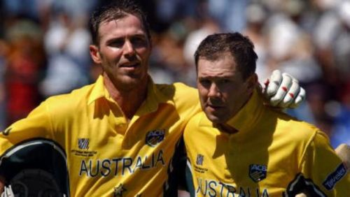 Martyn and Ponting put together 234 in 30 overs