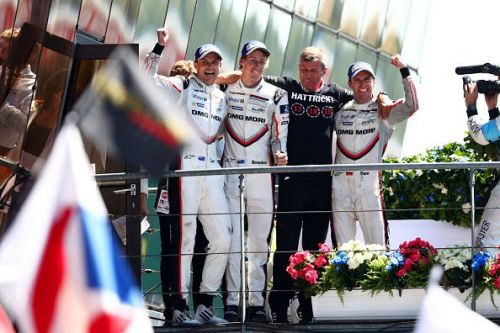 Brendon Hartly won Le Mans in 2017 with Porsche
