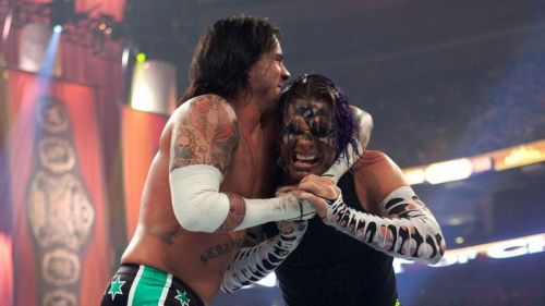 CM Punk and Jeff Hardy waged a war in 2009, which focussed on the latter's real-life substance problems.