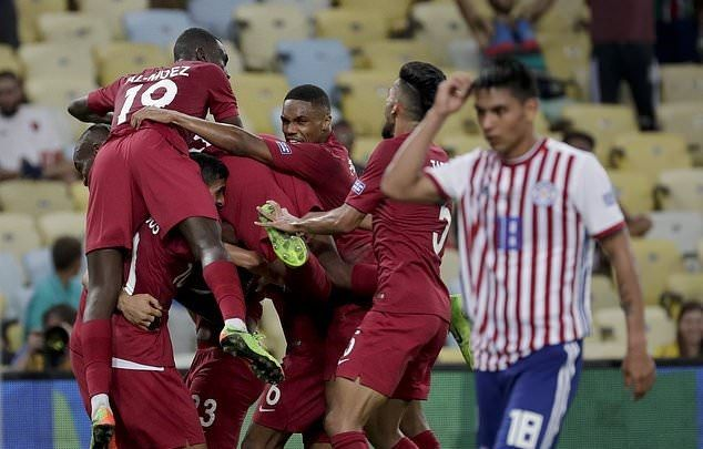 Qatar produced an incredible comeback to earn a valuable point in Group B
