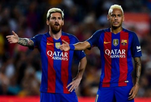 Neymar and Messi pair could be setting La Liga on fire this season once again