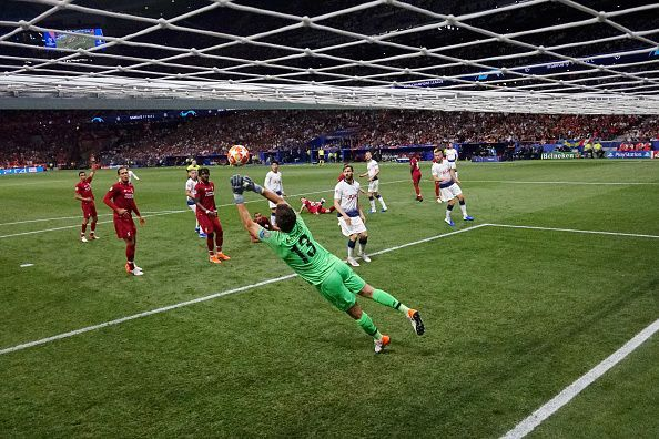 Alisson in action