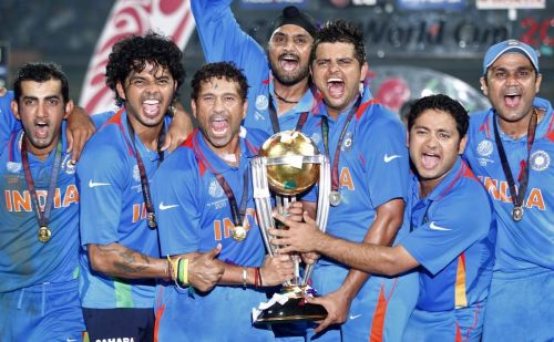 Dhoni's men became the first team to a World Cup final at home