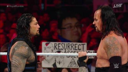 रोमन रेंस और अंडरटेकर एक टैग टीम मैच में साथ आएंगे