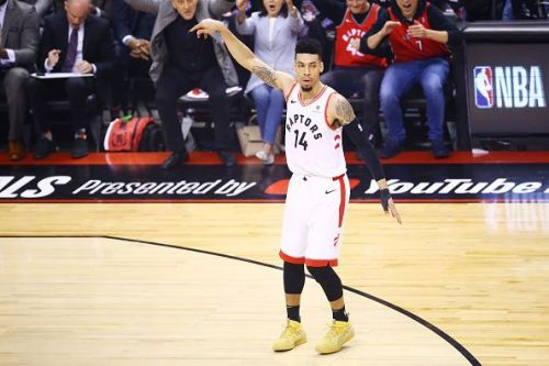 Danny Green has impressed during Toronto's run to the NBA Finals