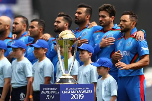 The Afghanistan players