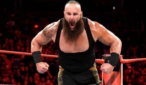 Braun Strowman and Goldberg would create the proper buzz