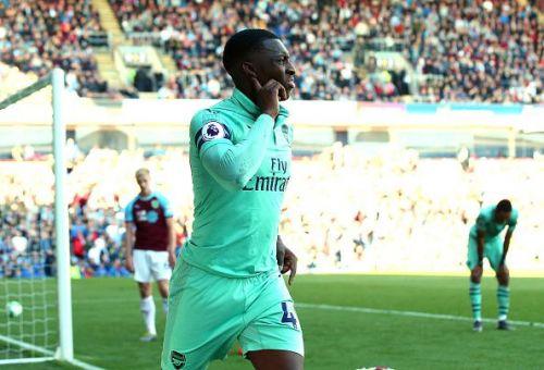 Eddie Nketiah has made 8 senior appearances for Arsenal