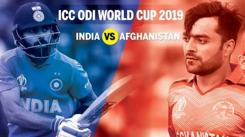 India vs Afghanistan - ICC Cricket World Cup 2019