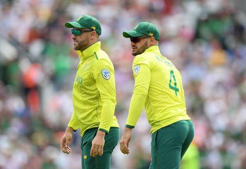 Faf du Plessis and Aiden Markram