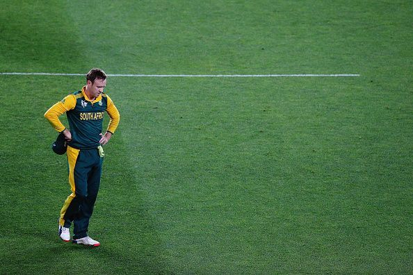 It was a heartbreaking loss for South Africa in the 2015 World Cup semi-final