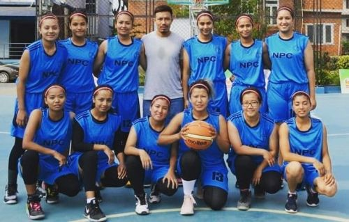 Nepal Police Club advanced to the final of the Nepal Women's Basketball League 2019