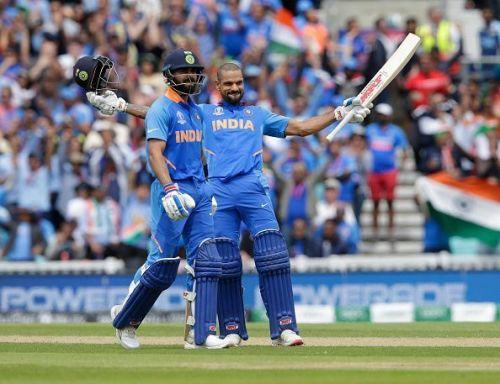 Shikhar Dhawan scored a Century against Australia