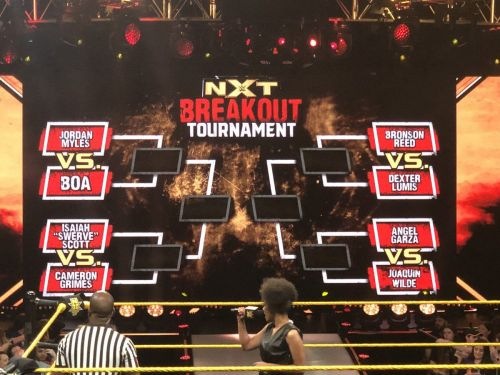 William Regal announced an interesting tournament on NXT TV
