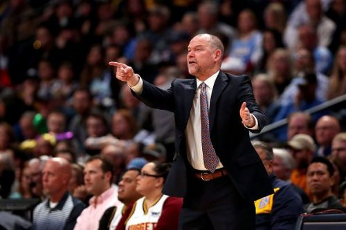 Michael Malone is one of three finalists for Coach of the Year
