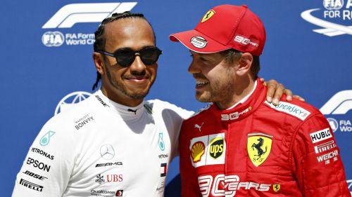 Hamilton and Vettel - Cropped