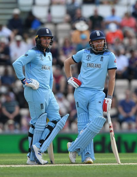 Jason Roy and Jonny Bairstow- Two integral components of England's unbelievable batting line-up