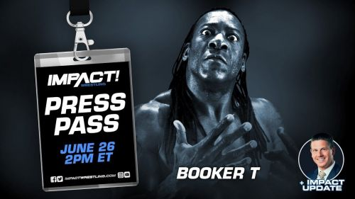I had a chance to connect with Booker T recently!