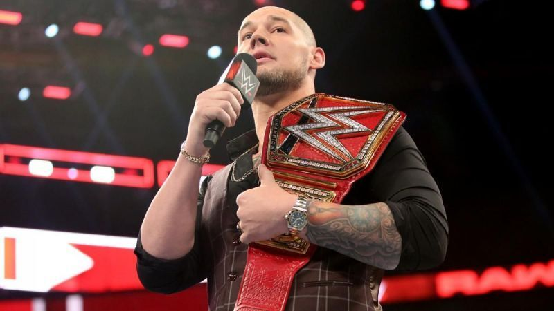 Baron Corbin will be coming for that Championship