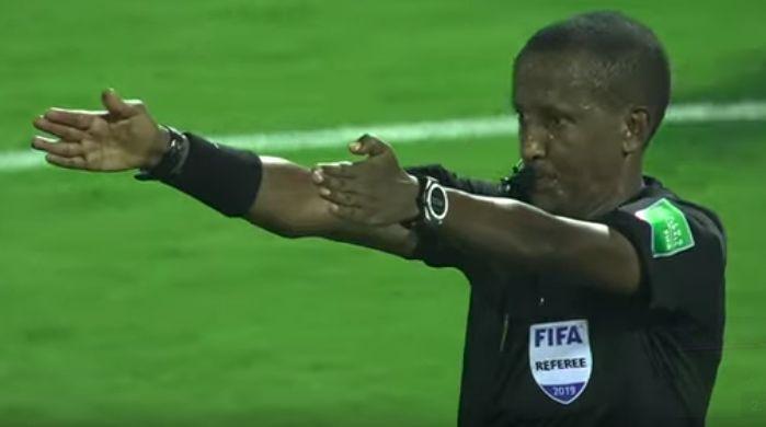 Referee Bamlak Weyesa