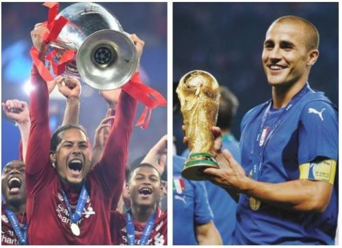 Van Dijk may become the first defender to win the Ballon d'Or since Fabio Cannavaro