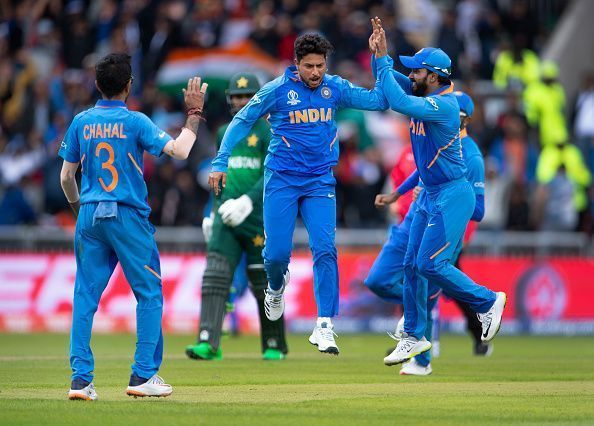 The Men in Blue have remained unbeaten in this World Cup