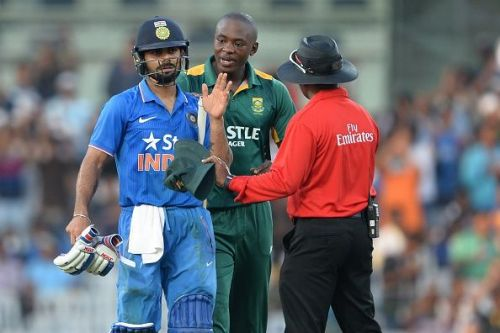 Rabada-Kohli have always loved to have a go at each other