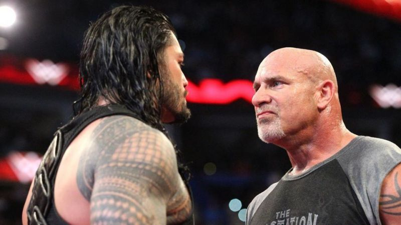 Could we see Goldberg v Reigns in the near future?