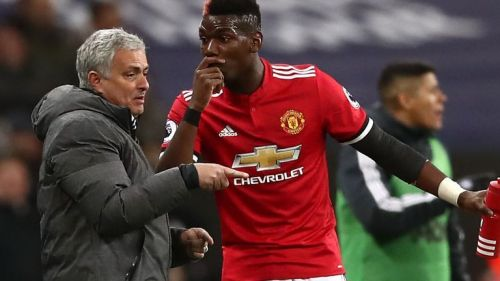 Jose Mourinho admitted Pogba was the Virus