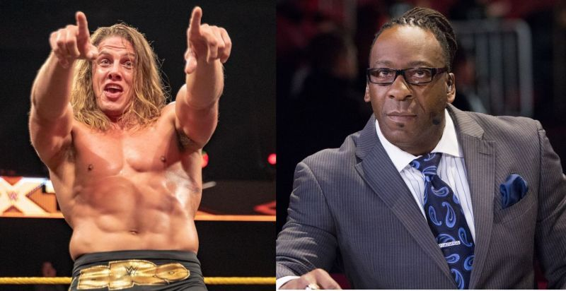 Matt Riddle and Booker T