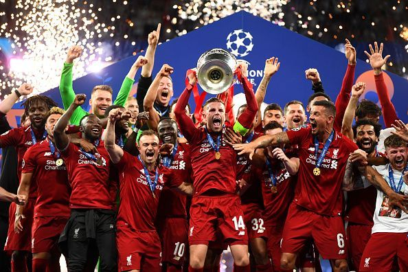 Liverpool have sealed their sixth Champions League triumph after a 2-0 win over Tottenham