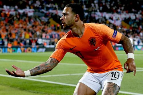 Depay played a part in all the goals scored by his team