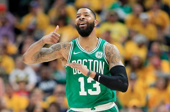Marcus Morris is among the players being linked with a summer move to the Spurs