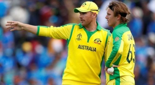 Aron Finch clarifies Adam Zampa was not tampering with the ball