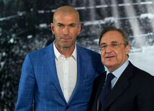 Zinedine Zidane Announced As New Real Madrid Manager Less Than A Year After Leaving