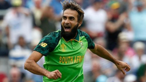 The World Cup started with a surprise as Imran Tahir bowled the first over