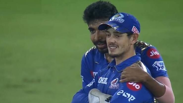 Jasprit Bumrah and Quinton De Kock