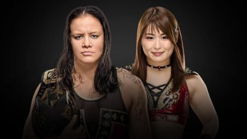 Shayna Baszler vs Io Shirai for the NXT Women's Championship