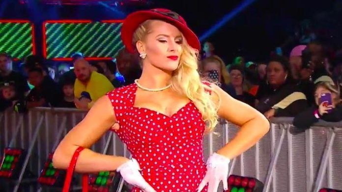 Lacey Evans was called out for a botch this week on Raw