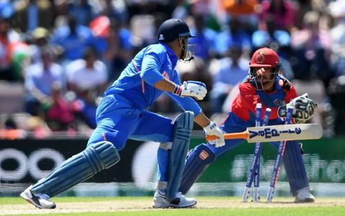 MS Dhoni failed to sparkle against Afghanistan