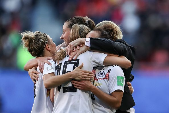 Germany v Spain: Group B - 2019 FIFA Women