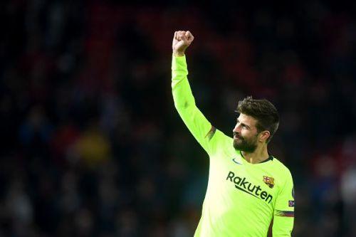 FC Barcelona's Pique needs no introduction.