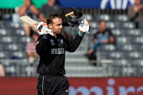 वेस्टइंडीज के खिलाफ अभ्यास मैच में शतक लगाने के बाद टॉम ब्लंडेल