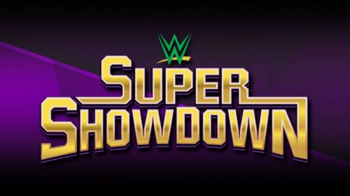 WWE's Super ShowDown will take place on June 7