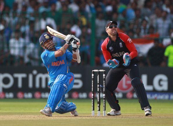 Sachin Tendulkar essayed a wonderful century against England during the 2011 World Cup