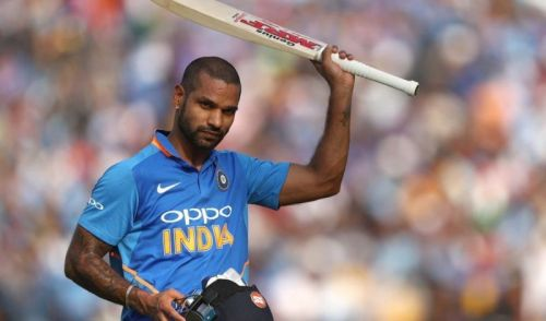 Shikhar Dhawan's ODI form was a little dodgy coming into the World Cup