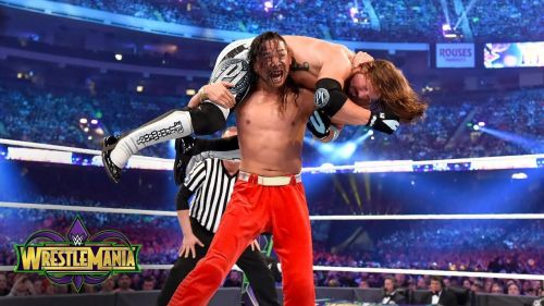 Styles and Nakamura delivered a fine match at WrestleMania, though fans think it could've been better.