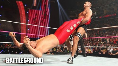 Cesaro Swing on The Great Khali