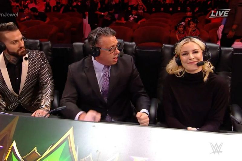 Renee Young at Crown Jewel