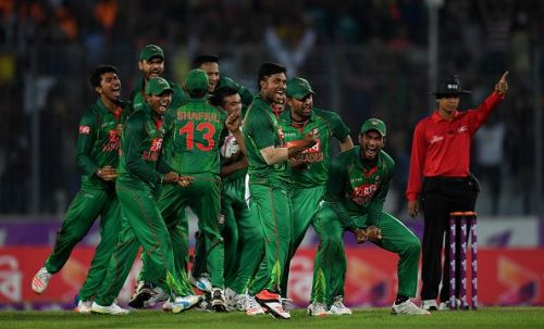 Bangladesh made its World Cup debut in 1999